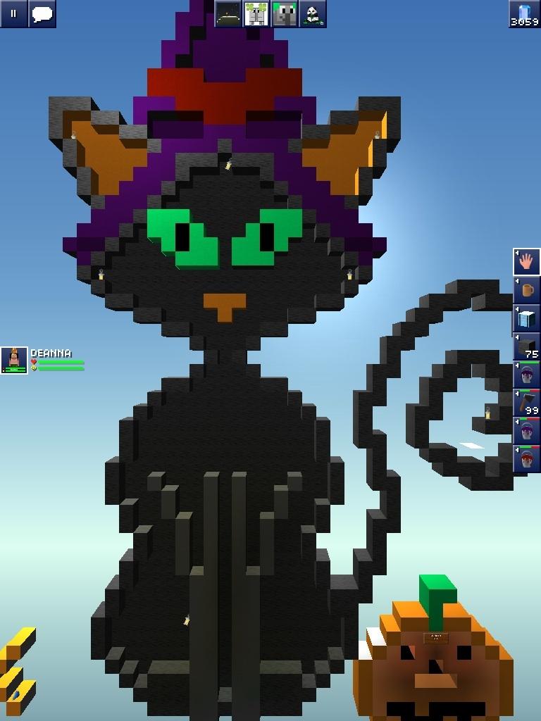 Halloween pixel art - Pictures - The Blockheads